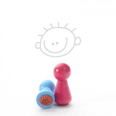 Mustritempel A - Poiss (16 mm)