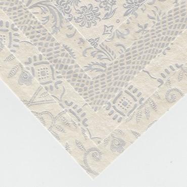 India paber AGRA (hõbe) 150 g/m² 25 x 35 cm - ERINEVAD MUSTRID