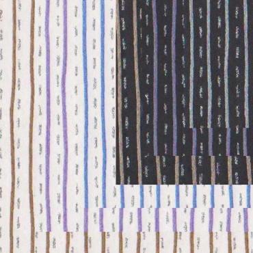 India paber JAIPUR (triip) 150 g/m² 56 x 76 cm