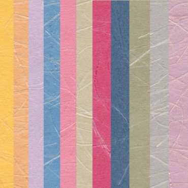Jaapani paber OGURA 70 g/m² 21 x 29,7 cm (A4) 5 lehte - ERINEVAD TOONID
