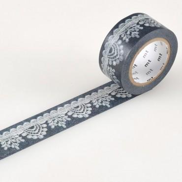 Washi teip 22 mm x 10 m - ERINEVAD MUSTRID