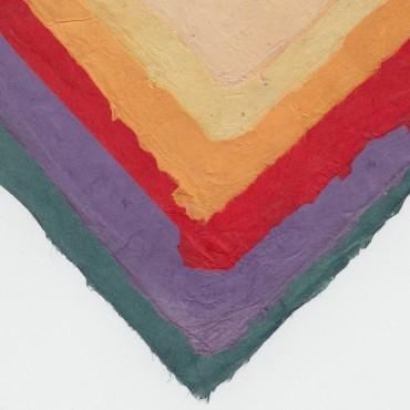 Nepaali paber VÄRVILINE 60 g/m² 21 x 29,7cm (A4) 25 lehte - ERINEVAD TOONID