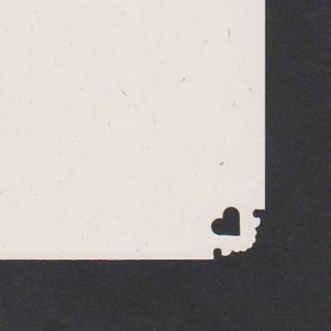 Mustriraud NURK 25 mm - Süda