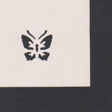 Mustriraud MOTIIV 28 mm - Liblikas