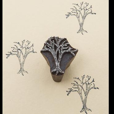 Puittempel A Väike puu (5x4,5cm)