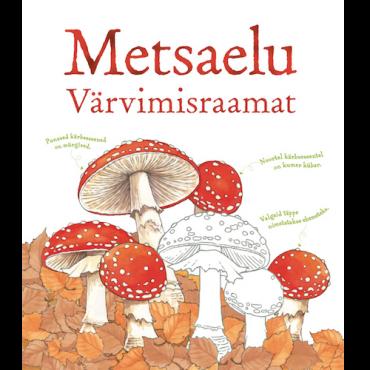 """Raamat """"Metsaelu. Värvimisraamat"""""""