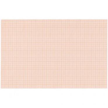 Millimeetripaber 80 g/m² 21 x 29,7 cm (A4) 10 lehte - Punane