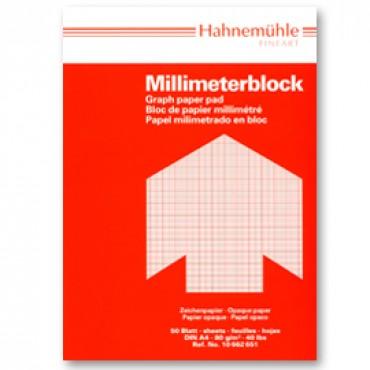 Millimeetripaber 80 g/m² 21 x 29,7 cm (A4) 50 lehte - Punane