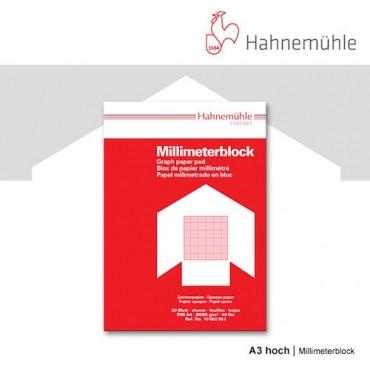 Millimeetripaber 80 g/m² 29,7 x 42 cm (A3) 50 lehte - Punane