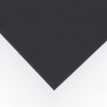 Paspartuupapp DSPC 1,4 mm 1000 g/m² 70 x 50 cm - Must/must