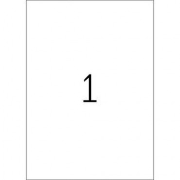 Etiketid OUTDOOR (ilmastikukindel) 5 lehte - 21 x 29,7 mm