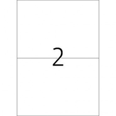 Etiketid OUTDOOR (ilmastikukindel) 5 lehte - 21 x 14,8 mm - 2 tk lehel