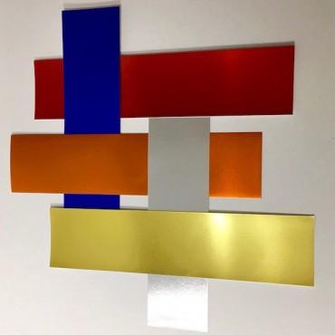 Kartong METALLIC ALU SADIPAL 225 g/m² 21 x 29,7 cm (A4) 10 lehte - ERINEVAD TOONID