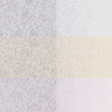 Jaapani paber SUKASHI ROSE 60 g/m² 21 x 29,7 cm (A4) 5 lehte - 3 värvi