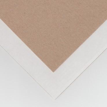 Lainepapp P/V 1,5 mm 70 x 100 cm - pruun/valge