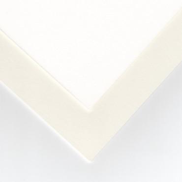 Paspartuupapp GALERII 1,5 mm 970 g/m² 81 x 101 cm - Valge/loodusvalge