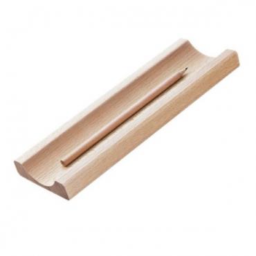 Pliiatsialus LINE 7 x 21 x 1,8 cm - Looduspruun