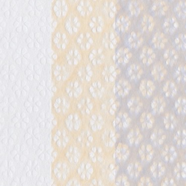 Jaapani paber KOUME TISSUE 17 g/m² 21 x 29,7 cm (A4) 10 lehte - ERINEVAD TOONID
