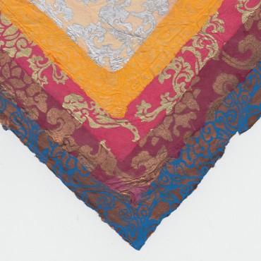 Nepaali paber LOOTOS 60 g/m² 21 x 29,7 cm (A4) 5 lehte - ERINEVAD MUSTRID