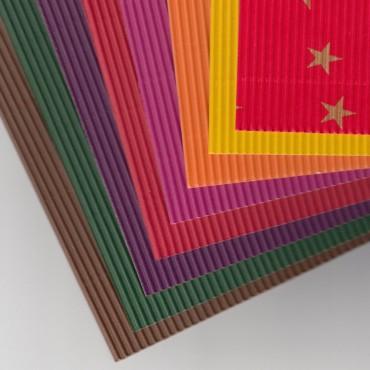 Dekoratiivlainepapp JANSEN 285 g/m² 50 x 70 cm - ERINEVAD TOONID