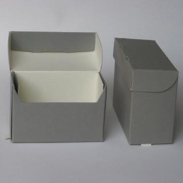 Arhiivikarp klaasnegatiividele  8 x 20 x 14 cm AL1,6 - Hall/valge