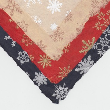 Nepaali paber TALV 60 g/m² 50 x 75 cm - ERINEVAD MUSTRID