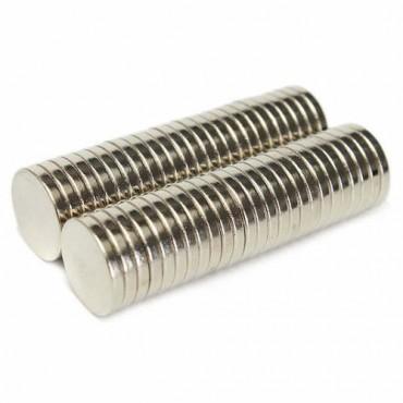 Magnetid Ø 10 mm paksus 2 mm 100 tükki