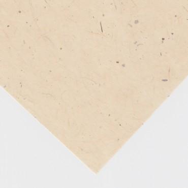 Jaapani paber GAMPI SMOOTH MM #43  32 g/m² 21 x 29,7 cm (A4) 10 lehte - Kreemikas