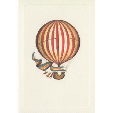Kaart ja ümbrik ROSSI 240 g/m² 11,5 x 17 cm - Punane õhupall