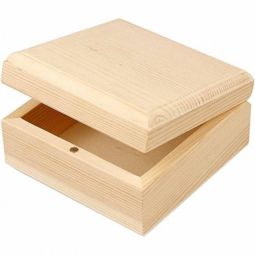 Karp PUIDUST 9 x 9 x 5 cm magnetiga - 8 tükki