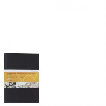 Visandiraamat HM 120 g/m² 14,8 x 21 cm (A5) 64 lehte - Must