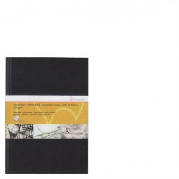 Visandiraamat HM 120 g/m² 21 x 29,7 cm (A4) 64 lehte - Must