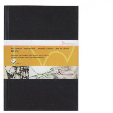 Visandiraamat HM 120 g/m² 29,7 x 42 cm (A3) 64 lehte - Must