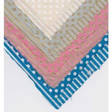 Nepaali paber TRIIBUD-TÄPID 60 g/m² 21 x 29,7 cm (A4) 5 lehte - ERINEVAD MUSTRID