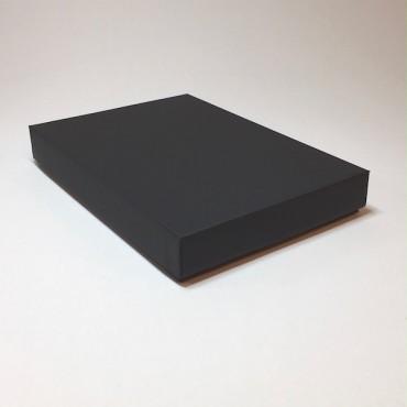 Kinkekarp 22 x 31 x 5 cm - Must lainepapp