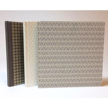 Käsitsi köidetud külalisteraamat 21 x 21 cm 96 lehte - ERINEVAD VARIATSIOONID