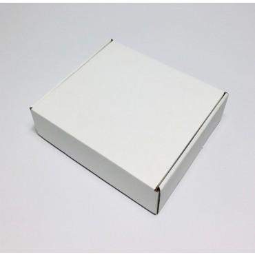 Pakend KLAPPIDEGA LP1,5 18 x 20 x 6 cm - Pruun/valge