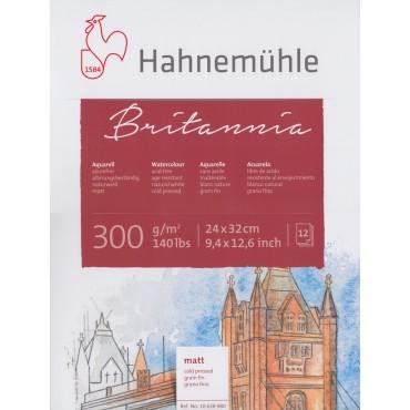 Akvarelliplokk BRITANNIA 300 g/m² 24 x 32 cm 12 lehte - Matt