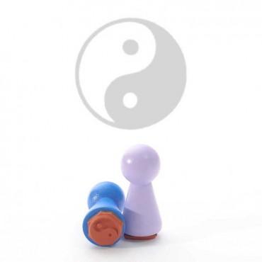 Mustritempel A - Ying Yang (16 mm)