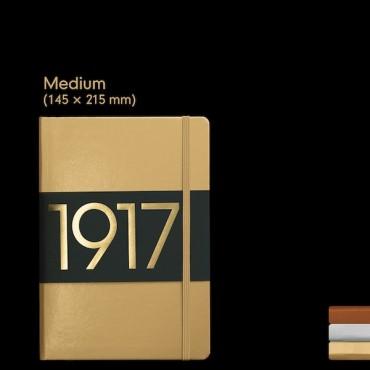 Märkmik MEDIUM METALLIC 80 g/m² 14,5 x 21 cm (A5) 249 lehte PUNKTID - ERINEVAD VÄRVID