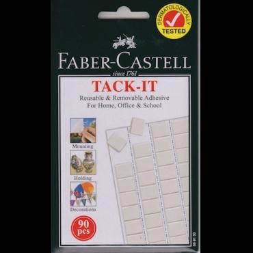 Kleepmass FABER-CASTELL 10 x 10 mm 90 tk
