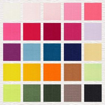 Krepp-paber CLASSIC 260% 144 g/m² 50 x 250 cm - ERINEVAD TOONID