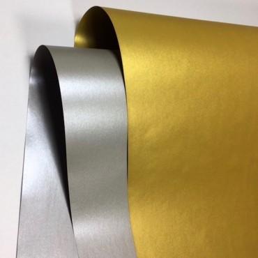 Joonistuspaber 130 METALLIC 130 g/m² 70 x 100 cm - ERINEVAD TOONID