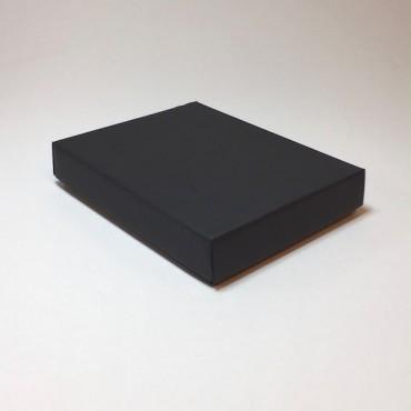 Kinkekarp 19 x 24 x 4,5 cm - Must lainepapp