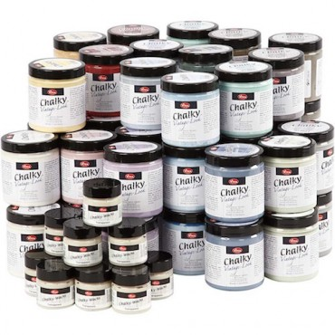 Kriitvärvid CHALKY VINTAGE 250 ml - ERINEVAD TOONID