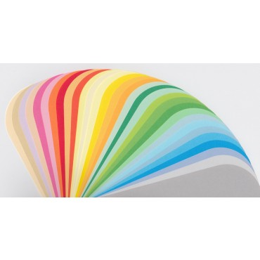 Joonistuspaber COLORACTION 160 g/m² 21 x 29,7 cm (A4) 50 lehte - ERINEVAD TOONID
