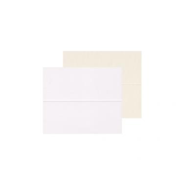 Kaarditoorik LAUAKAART FK300 10,5 x 4,5 cm (10,5 x 9 cm) 300 g/m² 20 tükki - ERINEVAD TOONID
