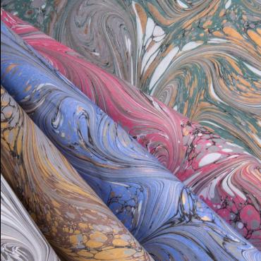 Dekoratiivpaber ROSSI MARMOR 90 g/m² 50 x 70 cm - ERINEVAD MUSTRID