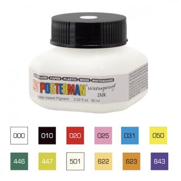 Tint POSTERMAN 60 ml - ERINEVAD TOONID