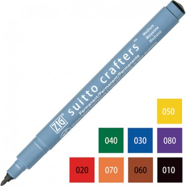 Pen SUITTO CRAFTERS Fine 1,0 - DIFFERENT COLORS